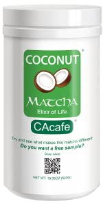 Coconut Matcha Tea