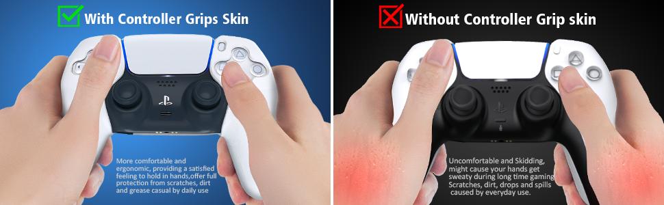 ps5 controller grip skin