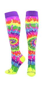 Tie Dye Soccer Socks Youth