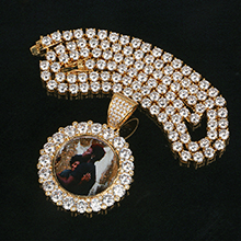 4MM Tennis Chain Hip Hip Necklace