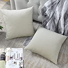 decorative velvet cushion covers,soft couch pillows