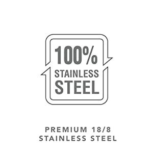 Premium 18/8 Stainless Steel