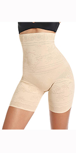 Hi-Waisted Thigh Slimmer Panty