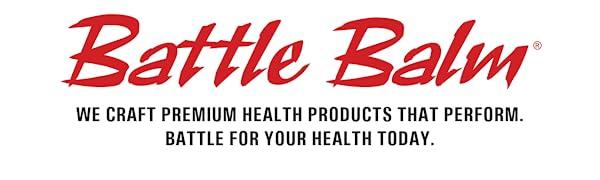 Battle Balm Premium Health Products All Natural & Organic Balm Cream Formula