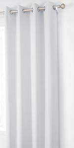 homeideas greyish white blackout curtains