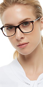 EYE GLASSES FRAME WITH CLEAR LENS