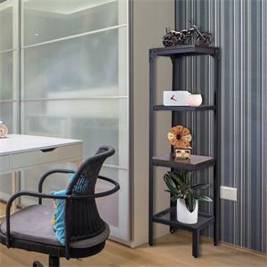 square space saving corner shelf