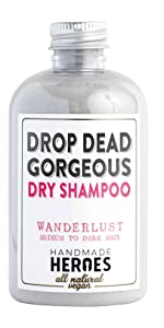 amazon handmade heroes drop dead gorgeous dry shampoo vegan lush natural batiste