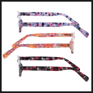 : These glasses are available in three beautiful colors