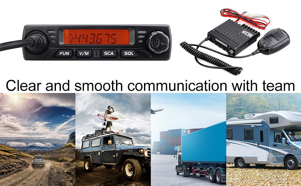 retevis mobile radios