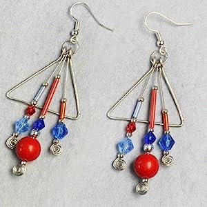 twist bugles tube glass beads for jewelry making