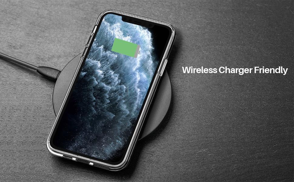 iPhone 11 pro max transparent case