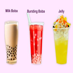 Milk Boba Bursting Boba Jelly