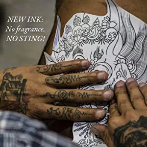 tatoo ink gel lotion semi-permanent tattoos para tatuajes ointment topical products skin balm salve