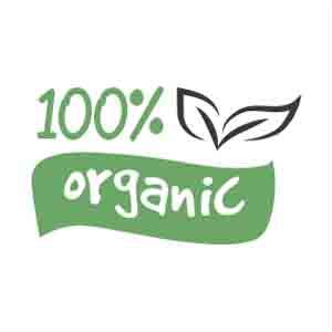 100% Organic, All Natural