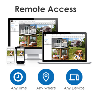 Local and Remote Access in Multiple Devices