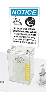Marketing Holders Wall Glove Dispenser Multi Fold Paper Towel Holder