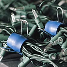 GadgetKlip organizes & manages Christmas lights & holiday decorations making storage easy and simple