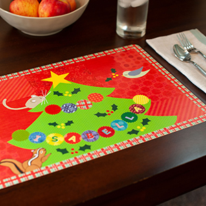 personalized place mat