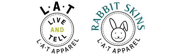 LAT Apparel Rabbit Skins Game Day Blank Apparel for Men Women Boys Girls Baby
