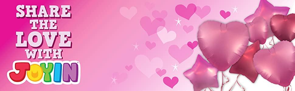 JOYIN 32 Pcs Valentines Dy Gift Cards with Mini Bubble Maker Wands