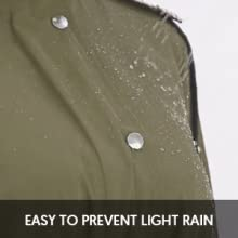 Super waterproof faction keep you warm and dry
