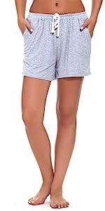 womens sleep shorts