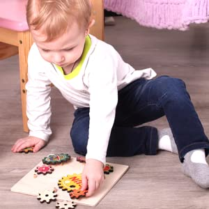 Kids Boys Girls 1 2 3 4 Years Old Age Toddler Puzzle Wooden Puzzles Wood Toddlers Games Toy Toys