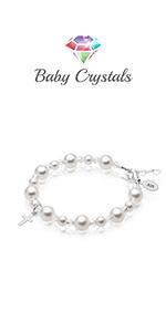 keepsake birthday goddaughter delicate pearl flower girl wedding jewelry