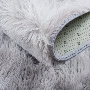Soft Area Rug Anti-Skid Warm Shaggy Indoor Living Room Home Bedroom Carpet Floor Mat Home Decoration