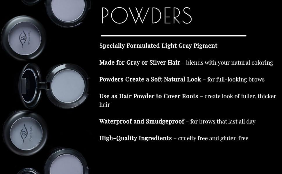 Eye Embrace Light Gray Eyebrow Powders