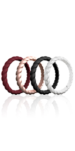 Women Stackable Braided Style