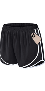 Athletic Shorts with Pocket