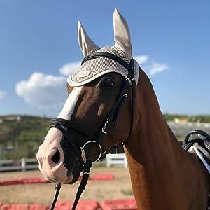 Horse Ear Bonnet-Gray