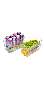 StorageWorks Fridge Bins
