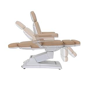 adjustable backrest and legrest