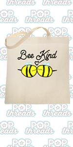 Be Kind Choose Kindness Teacher Cute No Bullies Large Canvas Tote Bag Women