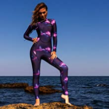 Scubadonkey women wetsuit surfing scuba diving kayaking snorkeling