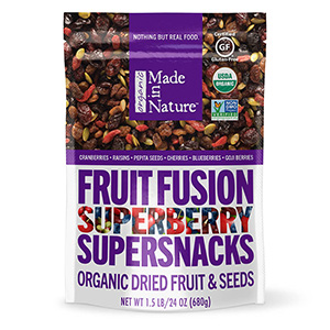 Made in Nature Fruit Fusion Superberry Organic Dried Fruit Seeds