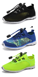 quick dry waters shoes mesh upper