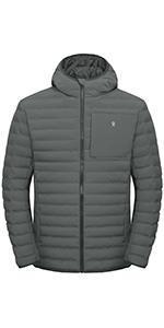Men's Waterproof Puffer Jacket