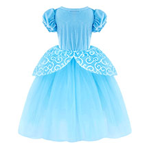 Dresses for Girls Costume Dress Princess Birthday Party Cosplay Outfits Tutu A+HG022 details-4