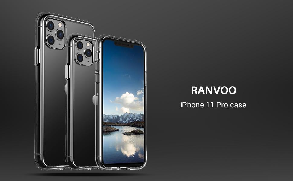 RANVOO iPhone 11 pro case