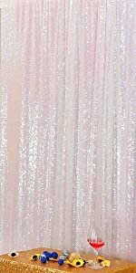 5FT x 7FT Sequin Photography Backdrop