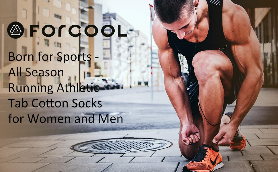 athletic running tab cotton socks
