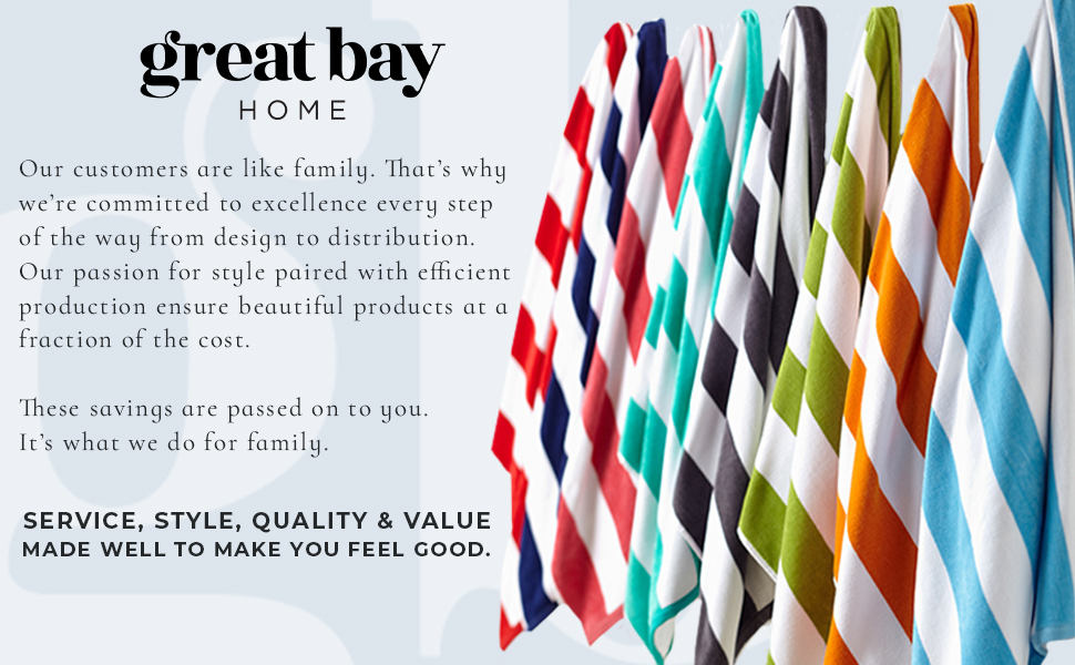 Great Bay Home Beach Towels