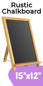 Rustic Chalkboard Sign