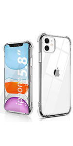BELONGME Crystal Clear Case for iPhone 11 Pro