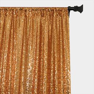 sequin curtains