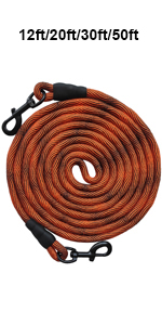 tie out dog leash